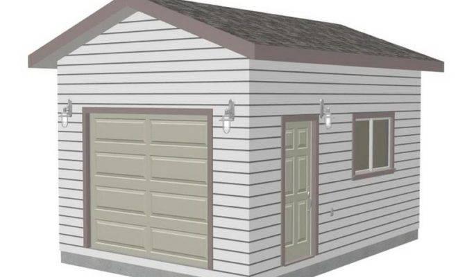 Garage Plans Small Design Stroovi