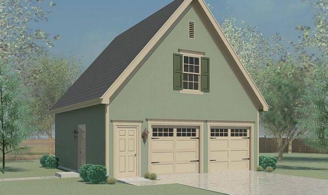 Garage Storage Plans Two Car Plan Loft