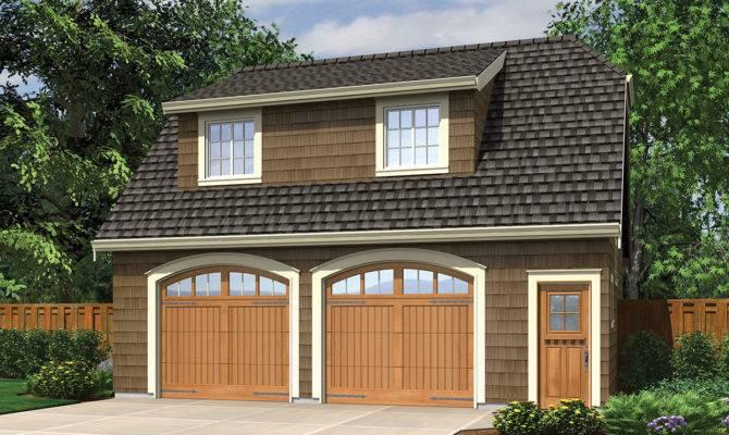 Garage Studio Shed Dormer Architectural