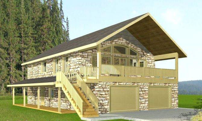 Garage Under Home Plans Venidami