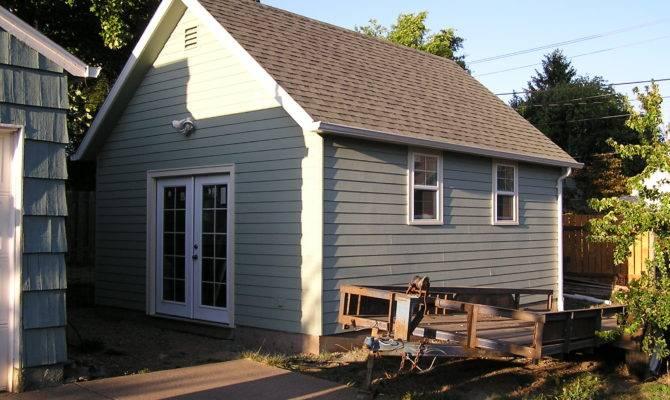 Garage Workshop Plans Sdsplans Blueprints Small