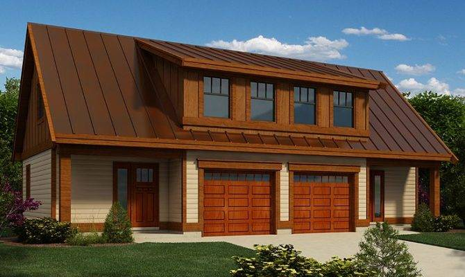 Garage Workshop Plans Two Car Plan