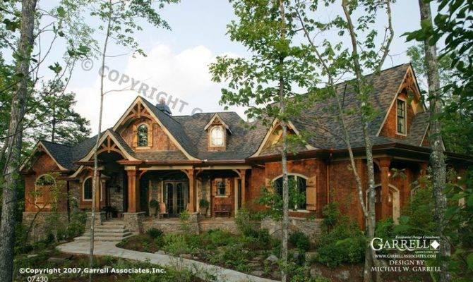 Garrell Associates Inc Tranquility House Plan Front Elevation