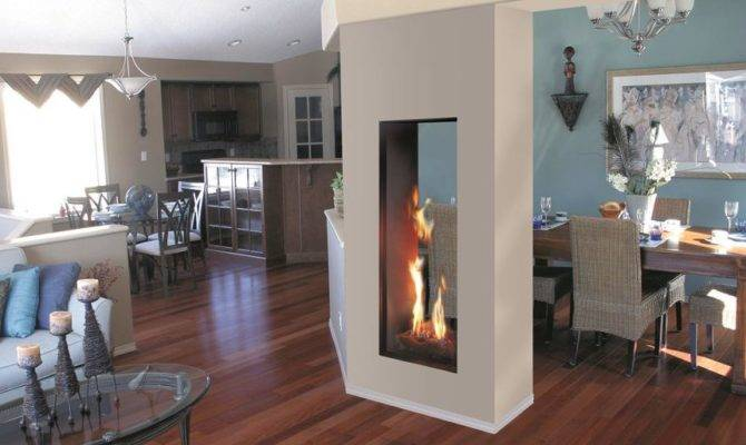 Gas Fireplace Insert Roma Double Sided Italkero
