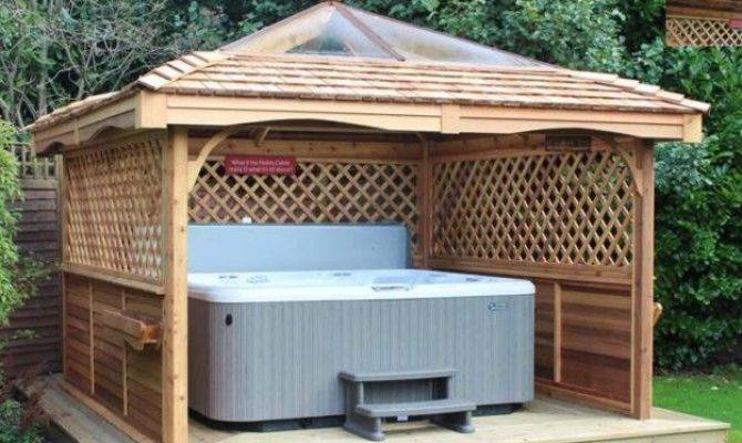 Gazebo Ideas Hot Tubs Tub