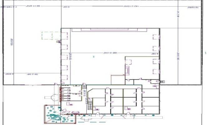 General Steel Industrial Floor Plan Ideas