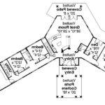 Georgetown Hexagonal Home Plan Floor