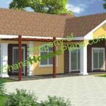 Ghana House Plans Larbi Plan