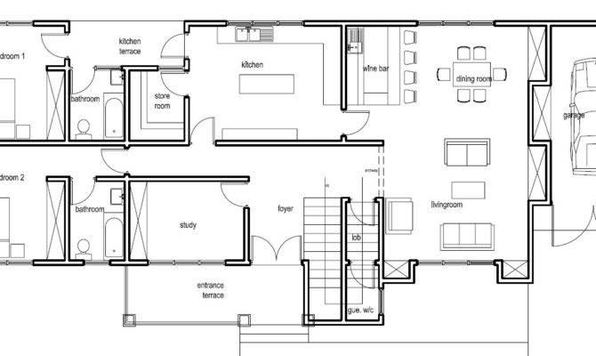 Ghana House Plans Nanaheema Ground Floor Plan Home Plans Blueprints 23610