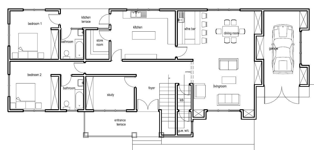 ghana house plans nanaheema ground floor plan home plans