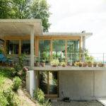 Gian Salis Architekt House Slope Wyhlen Germany Designboom