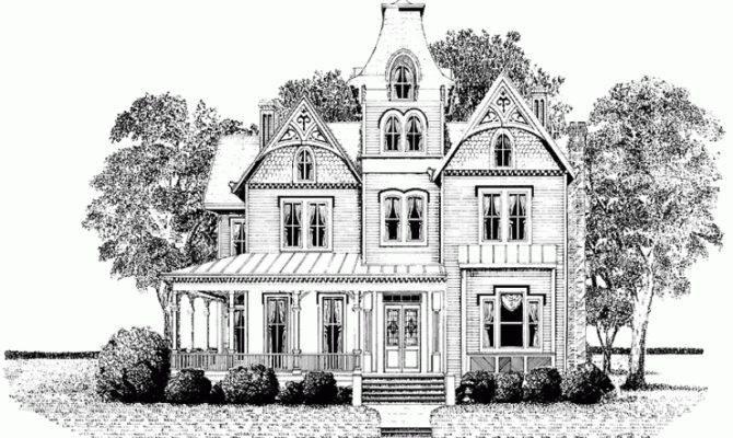 Gingerbread House Hwbdo Second Empire Builderhouseplans