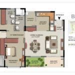 Glades Floor Plan Landscape Bhk Penthouse