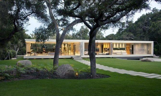 Glass Pavilion House Modern Design Moderndesign