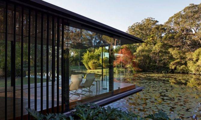 Glass Pavilion Takes Place Orchard But Keeps Its