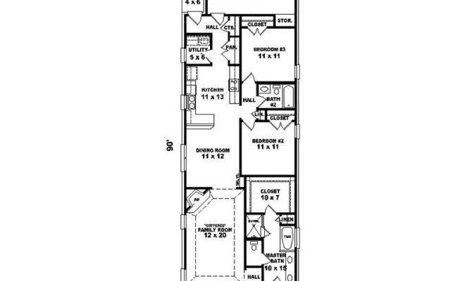 Glenapp Narrow Lot Home Plan House Plans More