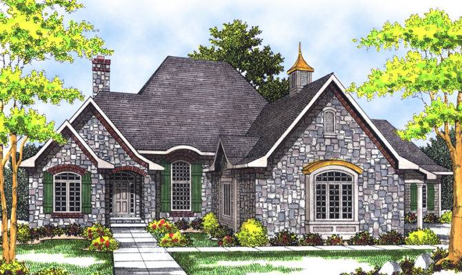 Goldwood Country French Home Plan House Plans