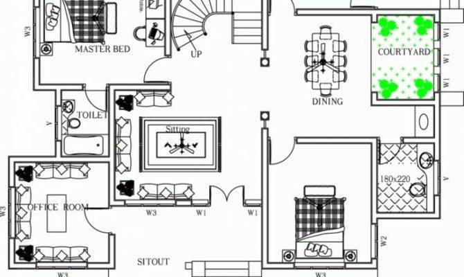 Good House Plan Kerala Arts Throughout New Home Plans