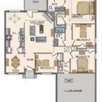 Goodwyn Homes Willow Plan Midtown Oaks Floor