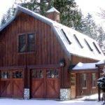 Gorgeous Gambrel Barn Garage Home Pinterest