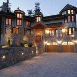 Gorgeous House Love Rock Exterior Turret Side
