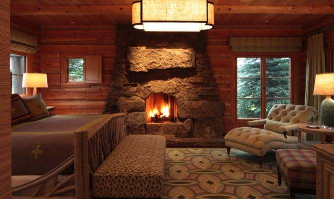 Gorgeous Log Cabin Style Bedrooms Make Drool
