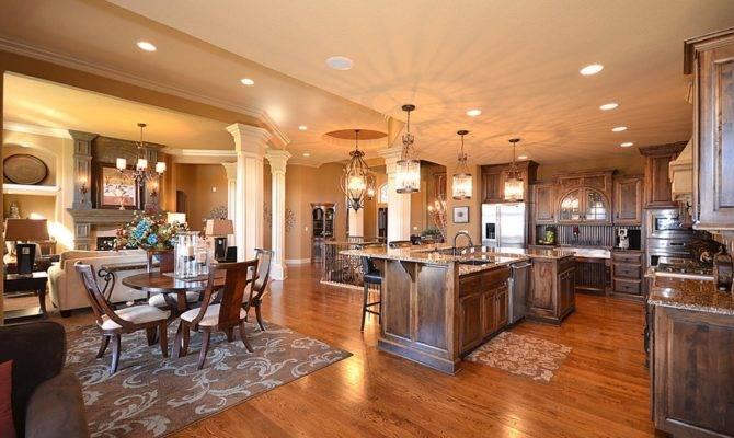 Gorgeous Open Floor Plan Homes Room Bath