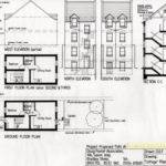 Gorgeous Plan Section Elevation Drawings