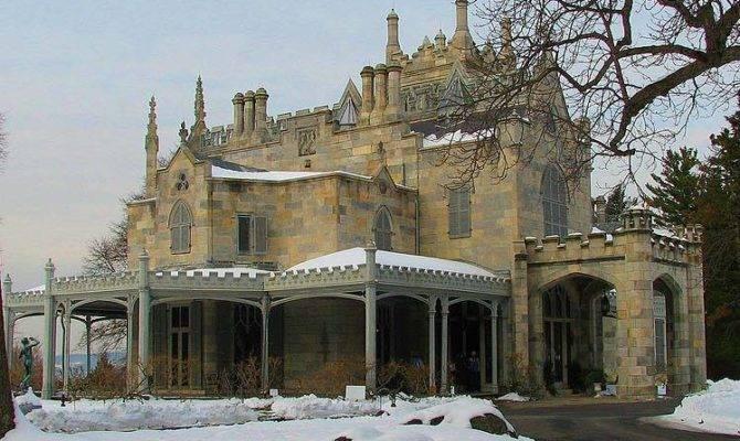 Gothic House Boxy Sprawls Horizontally Unlike Most
