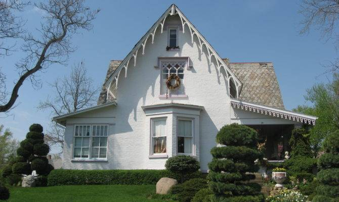 Gothic Revival House Fredericktown Wikimedia
