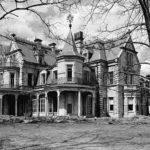 Gothic Style Mansion Goth Cresting Round