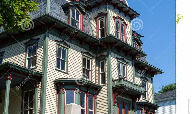 Gothic Victorian Home Windows
