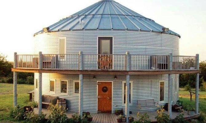 Grain Silo House Homes Buildings Pinterest