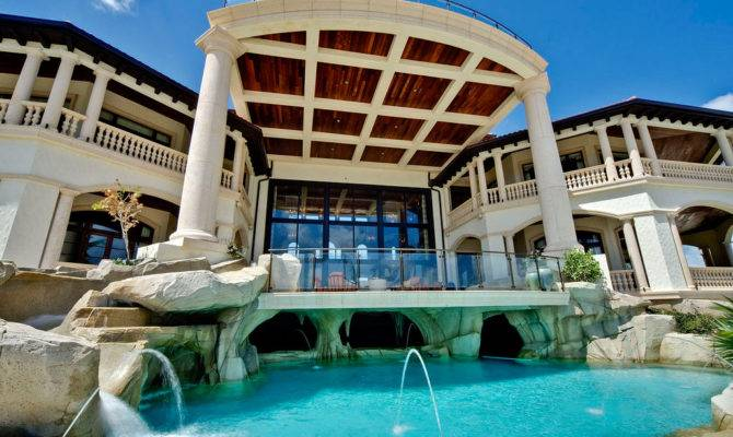 Grand Cayman Luxury Home Grotto Pools Idesignarch