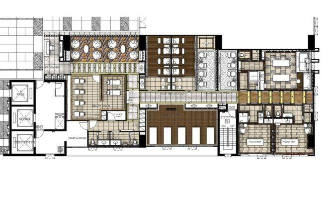 Grand Four Wings Convention Hotel Spa Floor Plan