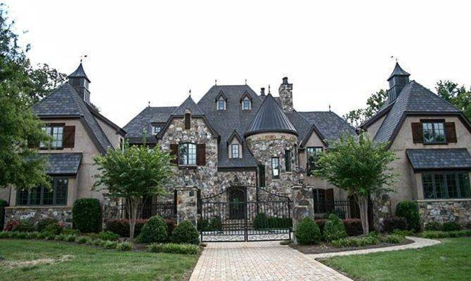 Grand French Country Chateau Architectural