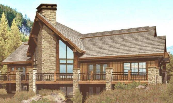 Great Chalet House Plan Plans Home Floor