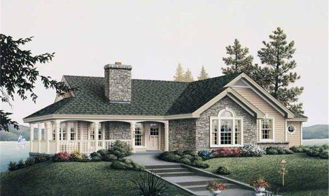 Great Country Cottage House Plan Lake