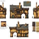 Great Medieval House Plan Fantasy Enchanted Living Pinterest