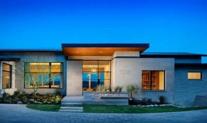 Great Modern Ideas Single Story House Plans