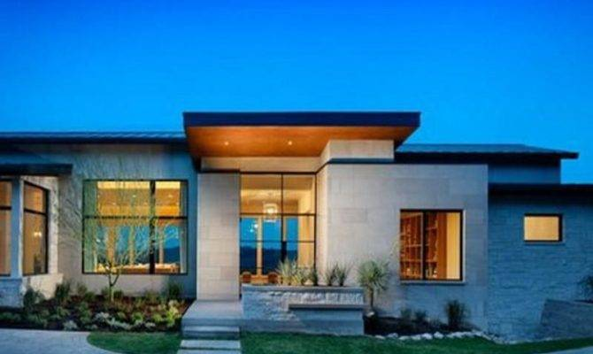 Great Modern Single Story House Plans Uploaded
