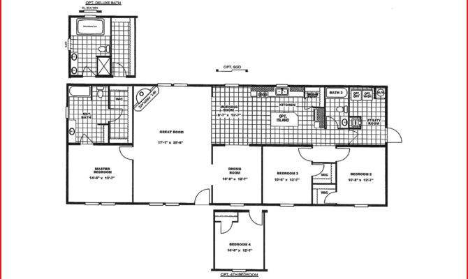 Great New Mobile Home Floor Plans Plan