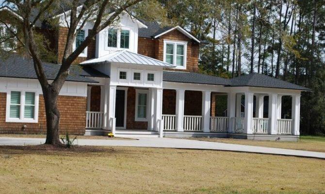 Great Porch House Facade Pinterest