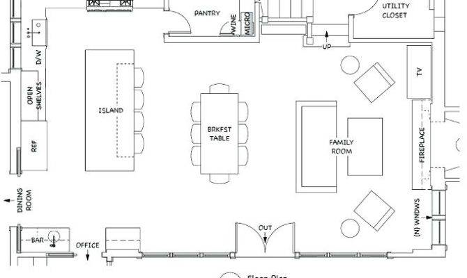 Great Room Floor Plans Living Addition