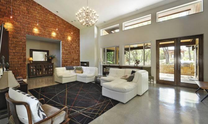 Great Room Modern Living Austin Ecolution