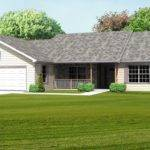 Greatroom Ranch House Plan Single Level Great Room Basement