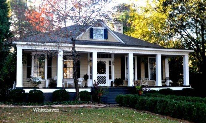 Greek Revival Architecture Elements Also Found Smaller Cottages