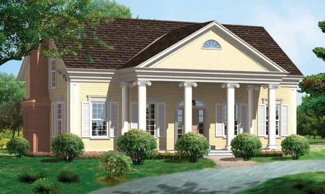 Greek Revival Cottage Plans House Homepw