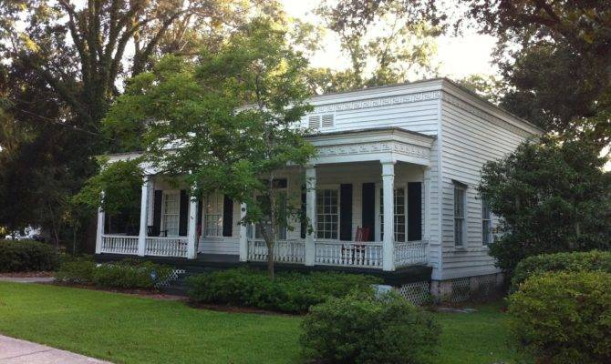 Greek Revival Cottages Key Friezes Only They Weren