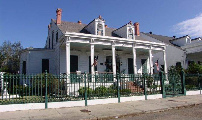 Greek Revival Creole Cottage Block Esplanade Ave